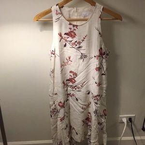 Leith drop waist floral dress!
